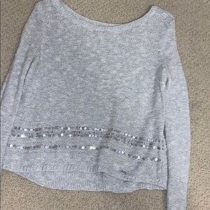 Silver Sweater